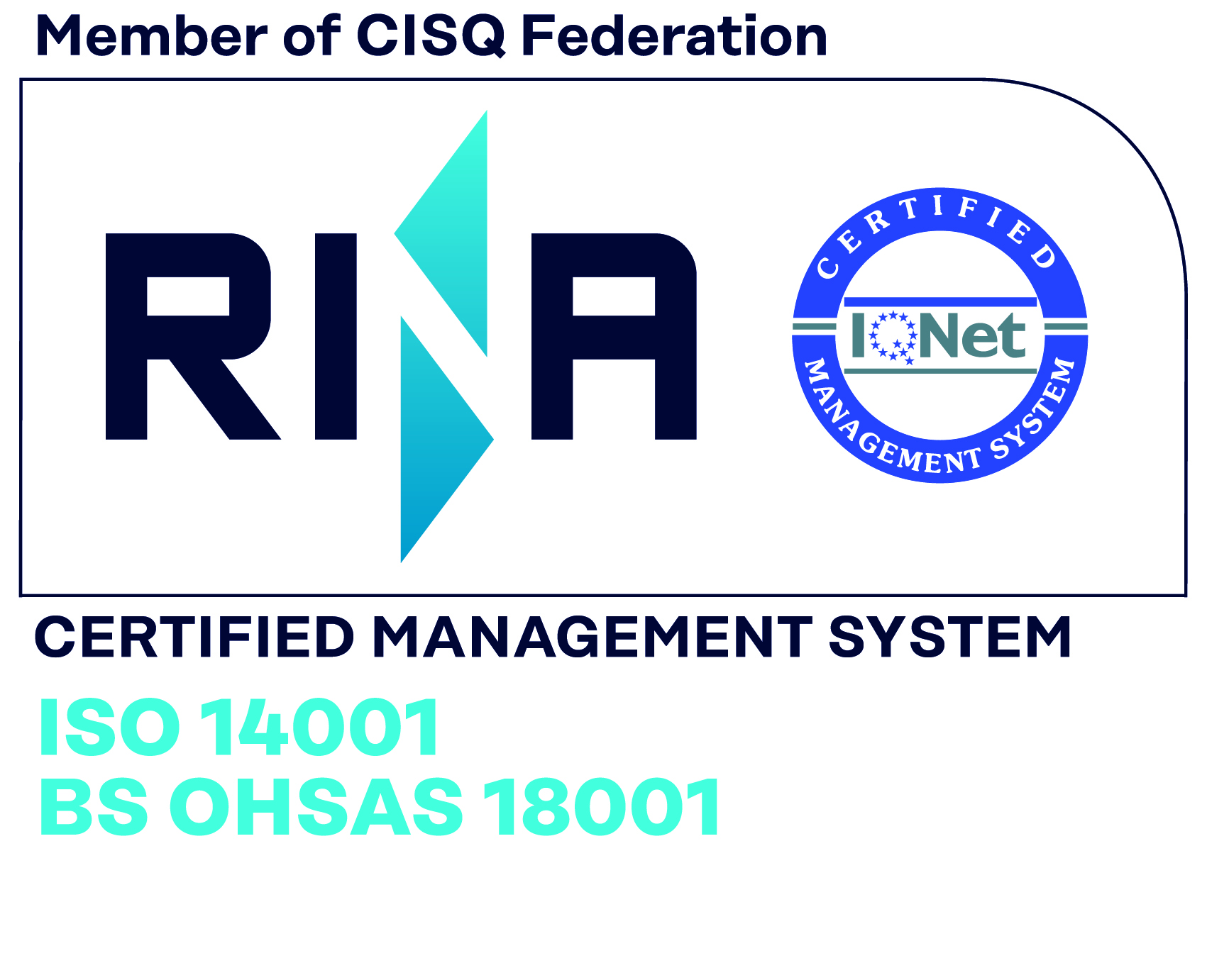 ISO 14001 BS OHSAS 18001 col